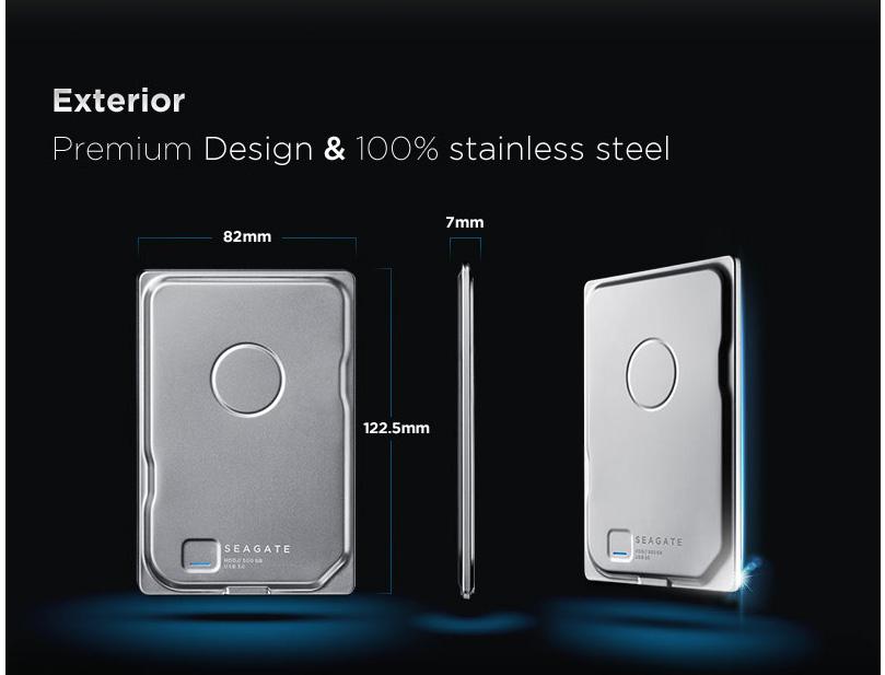 Limited Edition: Seagate Seven Portable với thiết kế sang trọng và gọn nhẹ