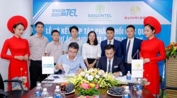 SAIGONTEL and SUNRISE signed the exclusive distribution agreement of SAIGONTEL CENTRAL PARK project