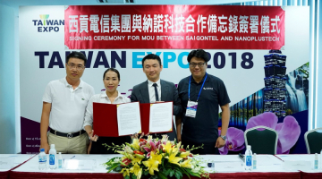 SAIGONTEL has signed memorandum of cooperation on environmental protection projects with NANOPLUS TECH (Taiwan)