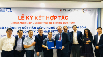 MEMORANDUM OF UNDERSTANDING ON COOPERATION BETWEEN SAIGONTEL AND SKYX SOLAR