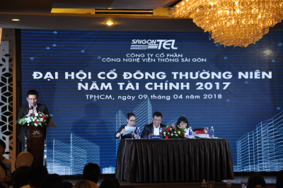 SAIGONTEL held the Annual General Meeting of Shareholders in fiscal year 2017